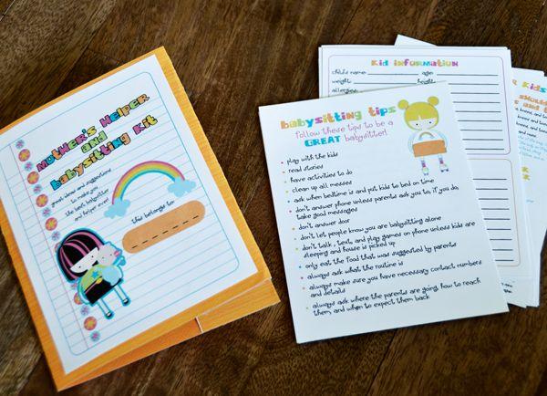 Activity Days - Babysitting Kit