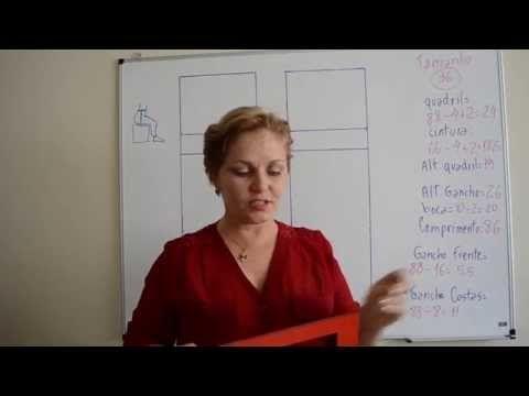 molde, costura: Lección de Video 7: Pantalones largos básicos