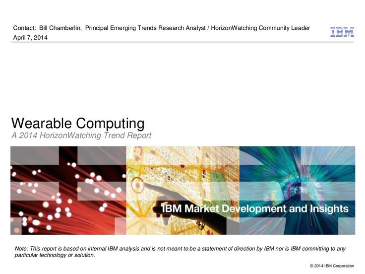 The six attributes of wearable computing