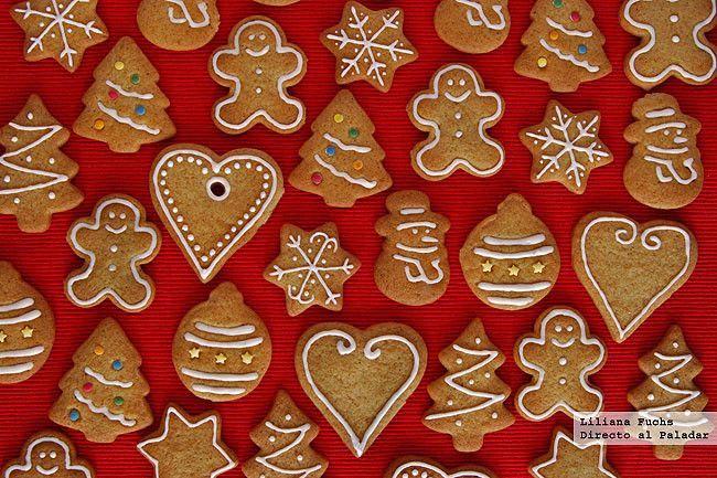 Directo al Paladar - Galletas crujientes de miel y especias. Receta de Navidad