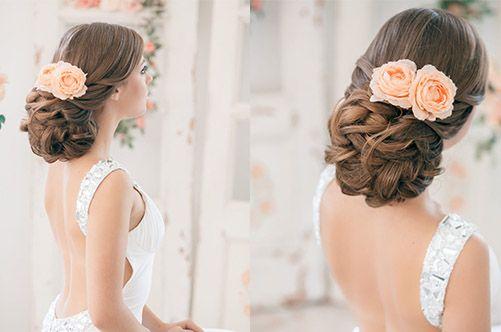 Стильные свадебные и вечерние причёски. Центр косметологии ОРНАТЭ