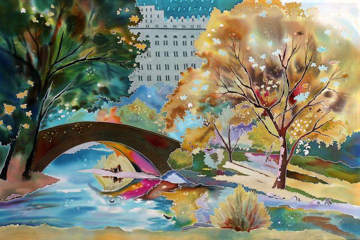 Natasha Foucault   Silk painter /Pittura su seta   Tutt'Art@   Pittura * Scultura * Poesia * Musica  