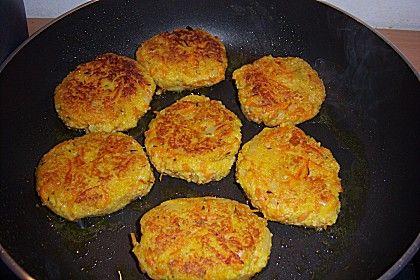 Möhren-Couscous Bratlinge