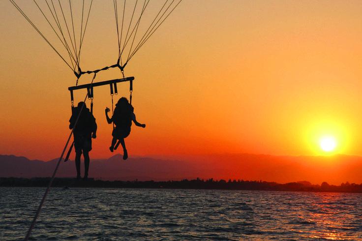 Deportes de aventura Parasailing Costa Brava - Barcelona