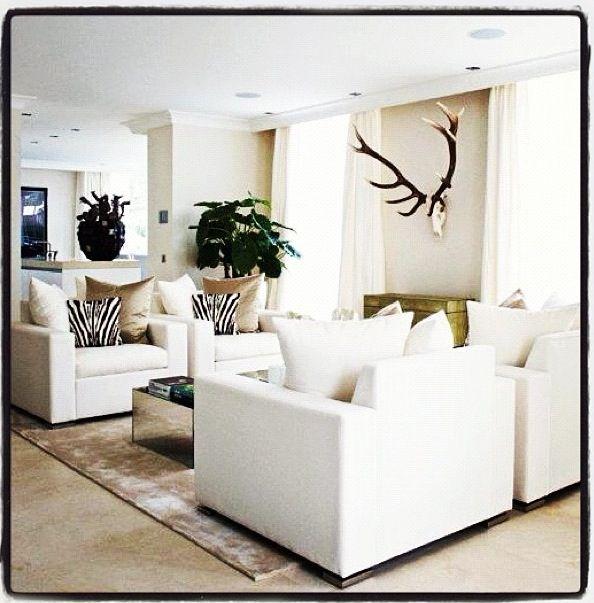 White Living Spaces: Erik Kusters White Living Room
