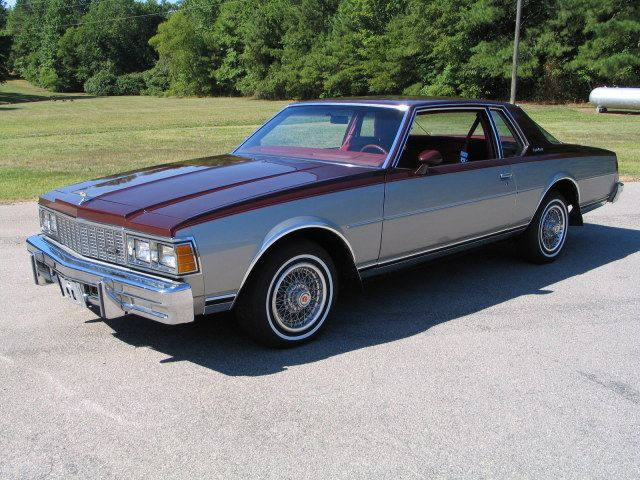 Indeed! 1981 Chevy Caprice Landau Coup! Heavy Chevys Cars