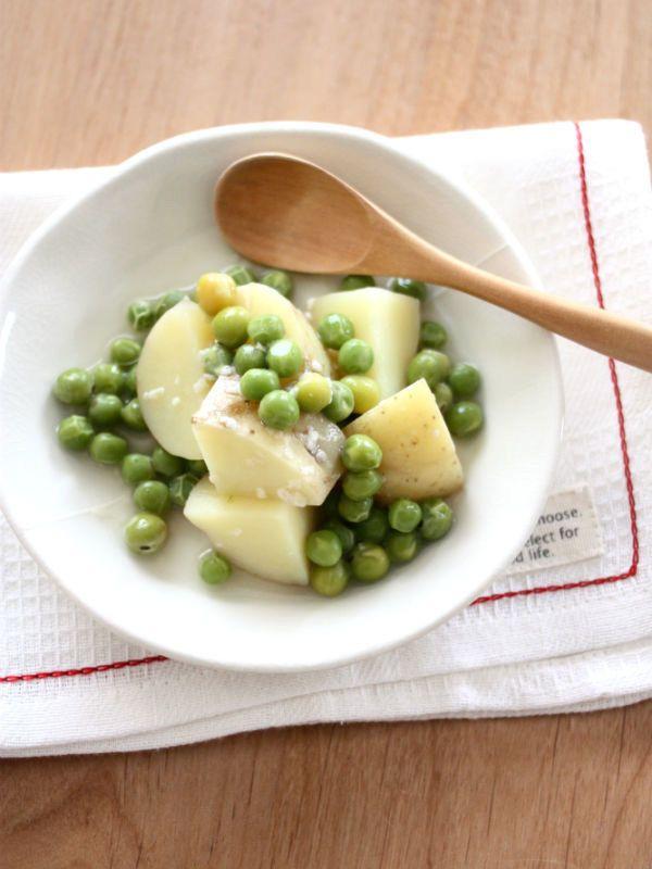 甘くてみずみずしい旬のグリーンピースを使った春満載のおいしいレシピ
