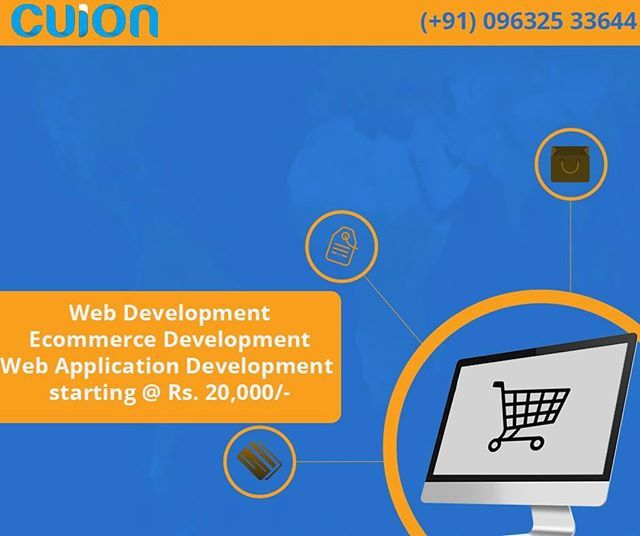 Develop Or Redesign Your Website At Cheaprates You Want An Ecommercewebsite Or A Staticwe Web Design Website Development Company Web Development Company