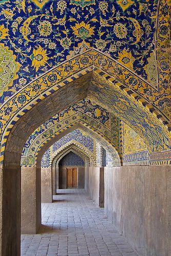 Pòrtic, Mesquita del Xa, Isfahan | Flickr - Photo Sharing!