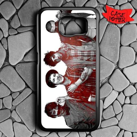 All Time Low Samsung Galaxy S7 Black Case