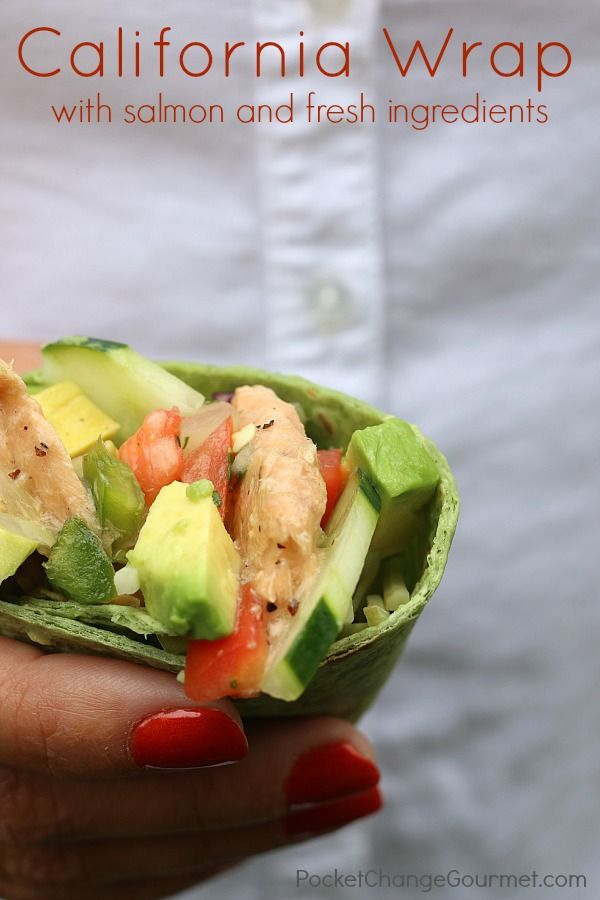 Packed full of delicious, healthy ingredients, these California Wraps make a great lunch at home, the office or on-the-go!