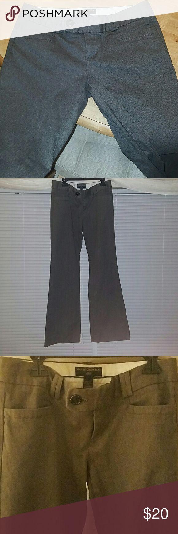 Banana Republic Pants Stretch EUC SZ 4 PETITE Pants Banana Republic Pants Trousers