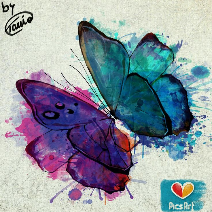 #canvas #paint #butterfly
