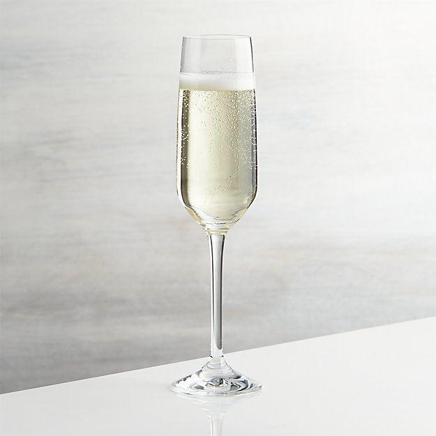 Nattie Champagne Glass | Crate and Barrel