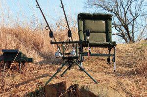Shore Catfishing Gear (Great shore fishing gear choices)