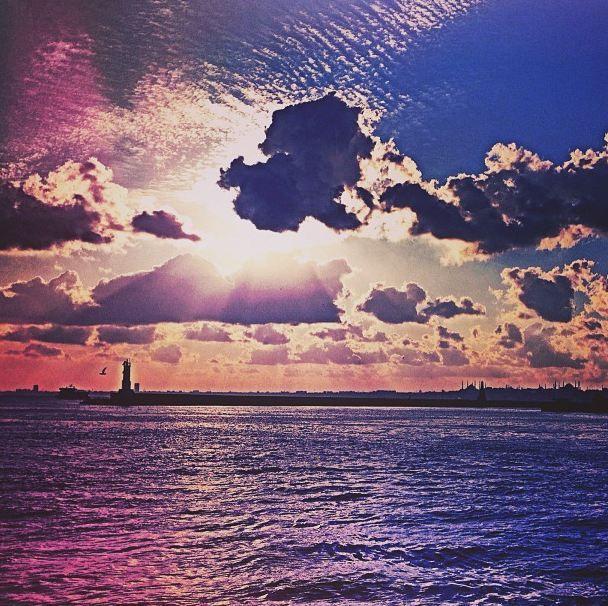 #istanbul #cloud #sunset