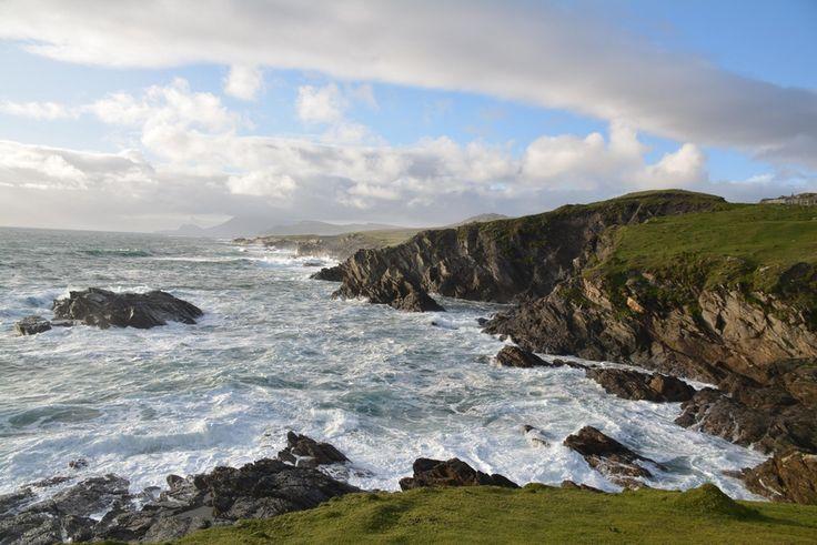 Cliffs, Achill Island, Wild Atlantic Way In County Mayo, Ireland [4496x3000][oc]