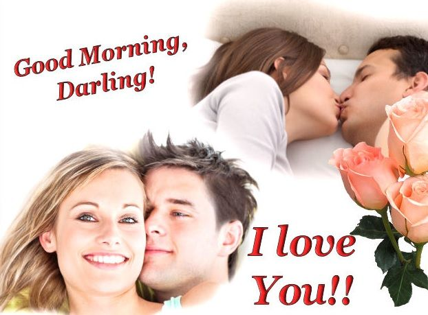 Good Morning My Love With Kiss Images : Good morning images for lover cute love wishes