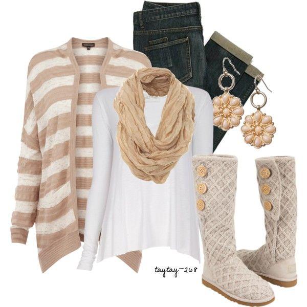 U0026quot;Tan u0026 Whiteu0026quot; | My Style | Pinterest | Ugg australia ...