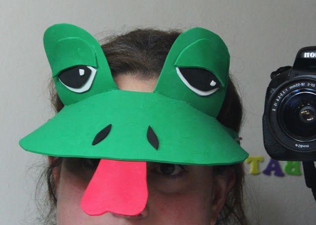 DIY Last Minute Frog Costume