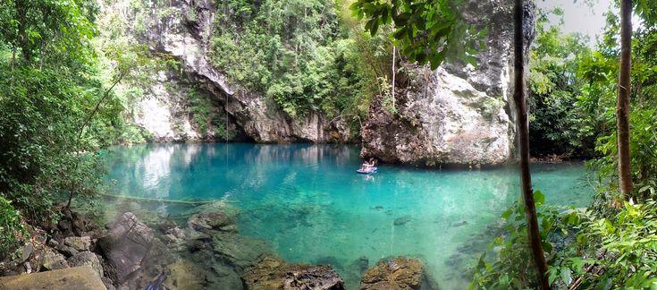 Danau Biru Sebening Kaca di Sulawesi Tenggara - Sulawesi Tenggara