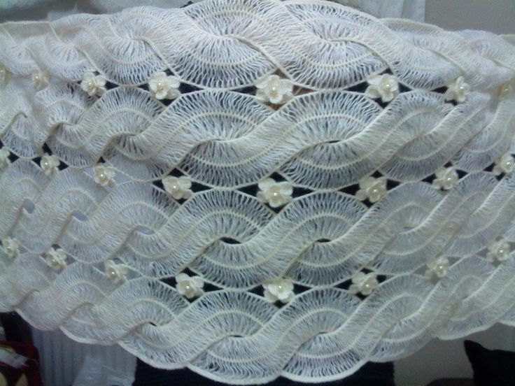 Hairpinlace Crochet Shawl