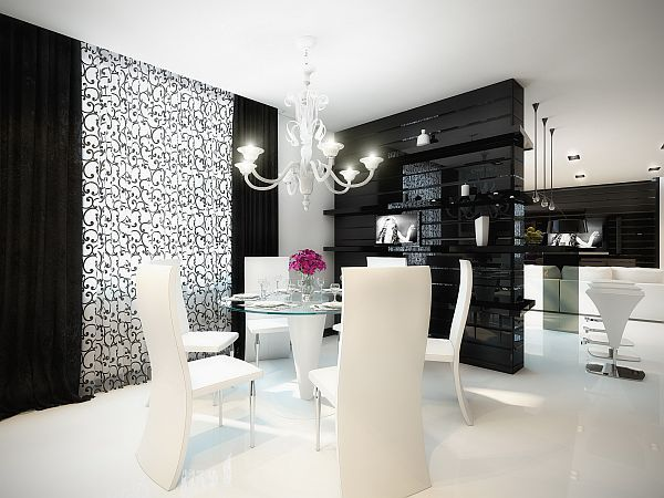 black-white-interior-dining-table1