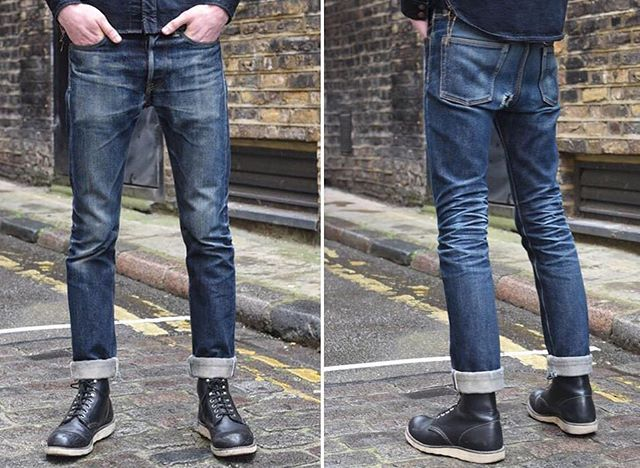 The perfect setup to get your weekend started. . @ironheartdenim 21oz. 555 . 2 years, 4 washes . @rivetandhide