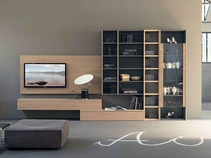 Freestanding TV wall system EDIS 2 - Fimar