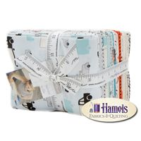 Mighty Machines Fat Quarter Bundle by Lydia Nelson for Moda
