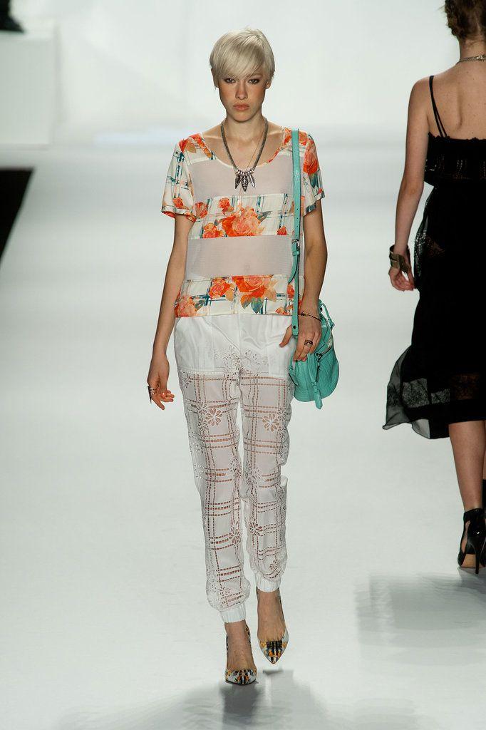 Ребекка Минкофф Весна 2014 показ мод | Нью-Йорк Неделя моды | POPSUGAR Мода