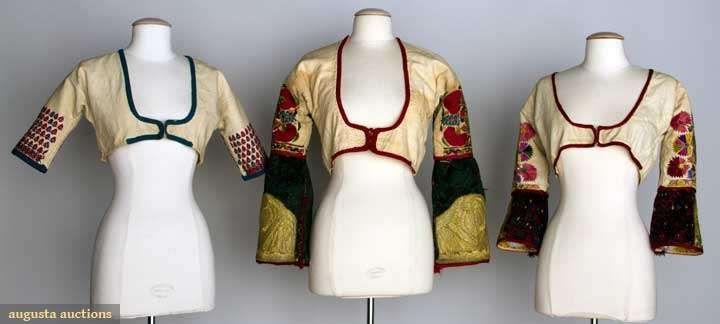 Three Women's Folk Jackets, Albania & Greece, 1850-1899, Augusta Auctions, November 13, 2013 - NYC