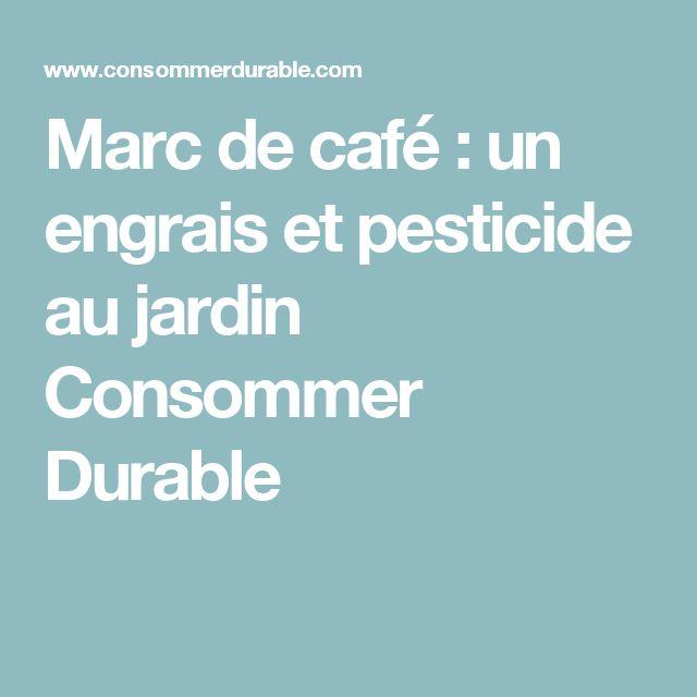 Les 9 meilleures images du tableau wish list sur pinterest - Utilisation du marc de cafe au jardin ...