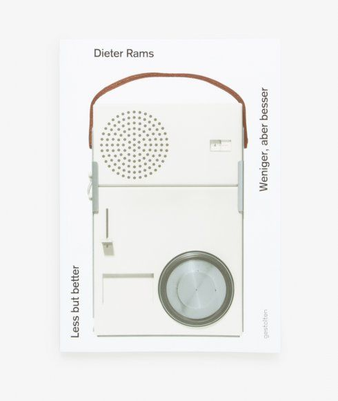 Less But Better or Weniger, abser besser. Without giving away too much, this new edition of the out of print Dieter Rams Foundation/Stifung gives us an insight into Rams?s approach to design which will be relevant for the foreseeable future. This book explores the ideas, criteria, and methods behind Ram?s creations. We chose this for our bookshelf because it reminds us of how to make good design.