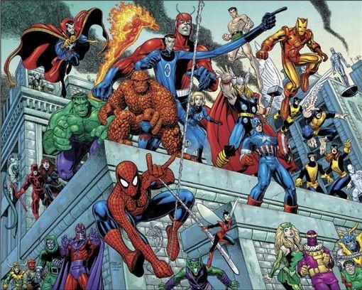 Οι νέοι ήρωες της Marvel ήταν αντι-ήρωες, με ανθρώπινες αδυναμίες και στιγμές της καθημερινότητας.