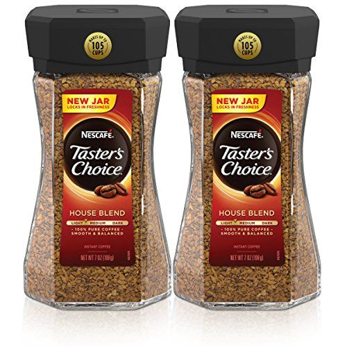 Nescafe Taster's Choice House Blend Instant Coffee, 7 Ounce (Pack of 2) *** You can find out more details at the link of the image. #InstantCoffee