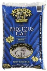 Precious Cat Clumping Cat Litter, 40 lb Bag just $13.90!