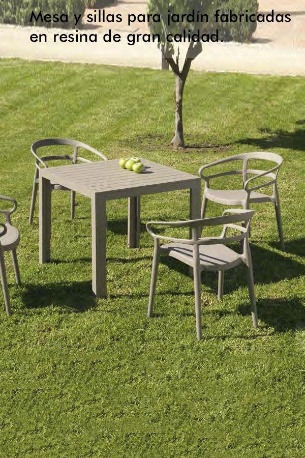 Muebles Outdoor Fabricados Con Resina De Alta Calidad Conjunto De