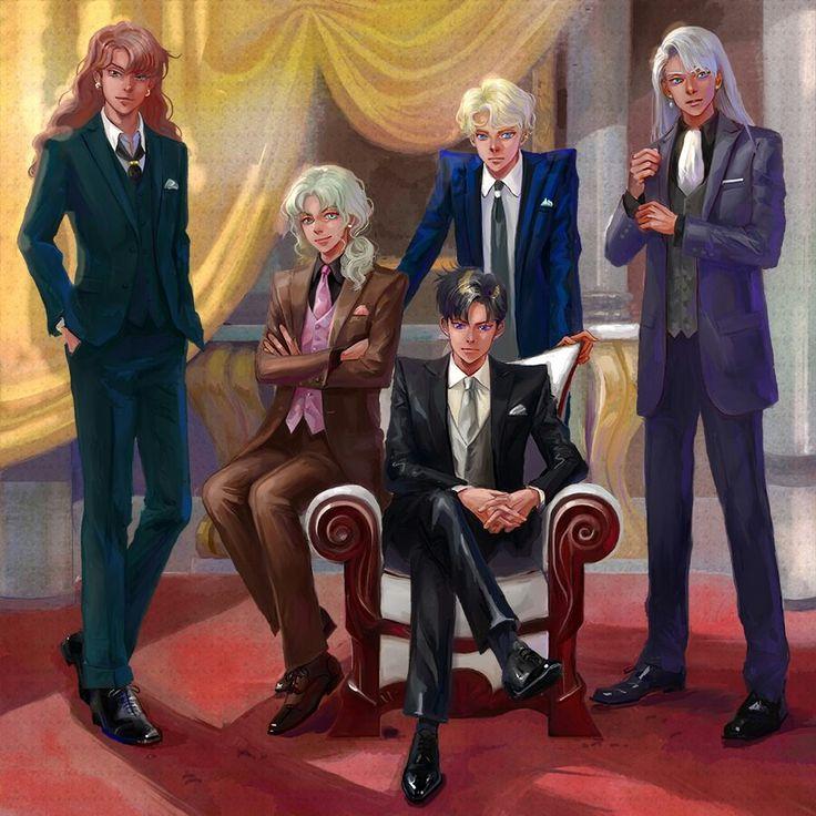 The men of the Earth Kingdom [Sailor Moon]