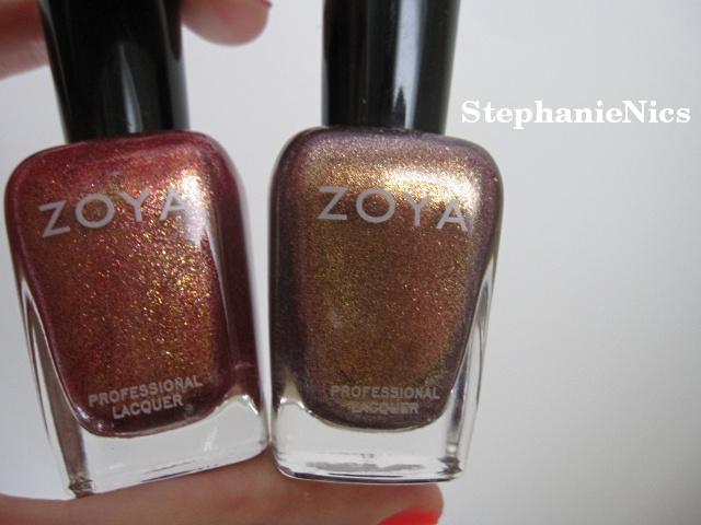 Zoya Gloria v. Faye | Prim & Polished | Pinterest