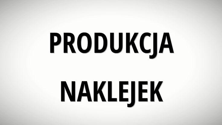 Produkcja naklejek - POLINAL