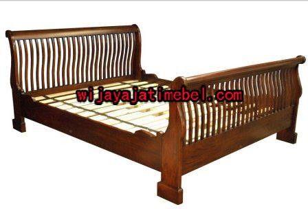 Tempat Tidur Minimalis Bagong Jari | Harga | Jati | Dipan | Wijaya Jati Mebel