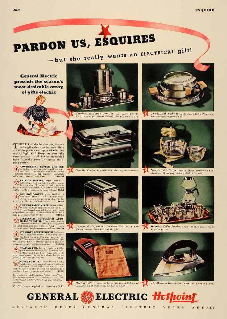 1936 Ad General Electric Kitchen Appliances Housewife   ORIGINAL ESQ1