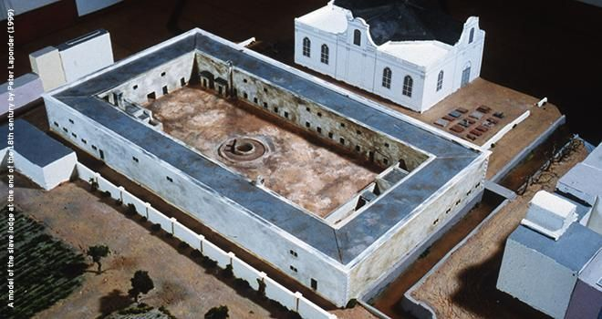 The Slave Lodge was built in 1679, making it the second oldest existing colonial structure of the Cape Colony, today known as Cape Town. This building was changed many times and it is unclear how much of the existing building dates from the slave period.   The building was used as a slave lodge until 1811 when it was changed into government offices by the new British colonial authorities. Britain occupied the Cape Colony in 1806 and their claim to the Cape was recognised in 1814 by Europe.