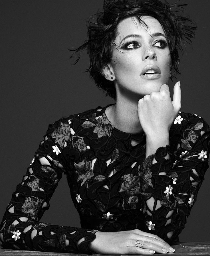 Rebecca Hall, photographed by Michael Schwartz for INTERVIEW, Aug 2015.