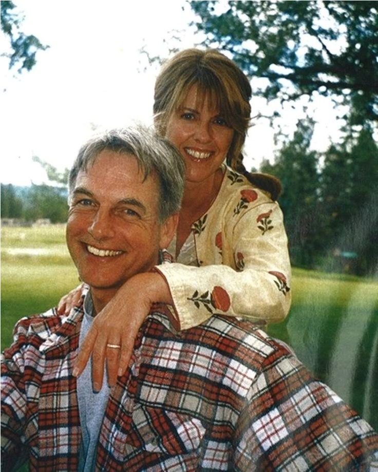 Mark Harmon & wife, Pam Dawber
