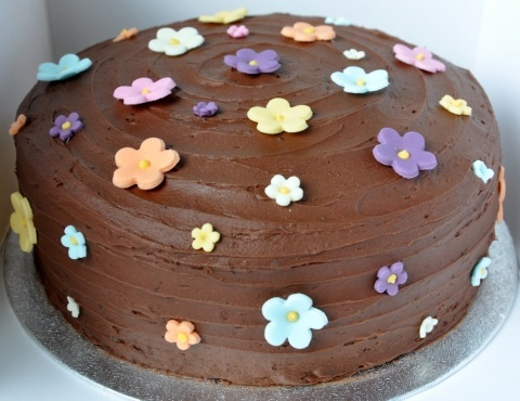 1000+ images about Chocolate Cake on Pinterest Simple ...