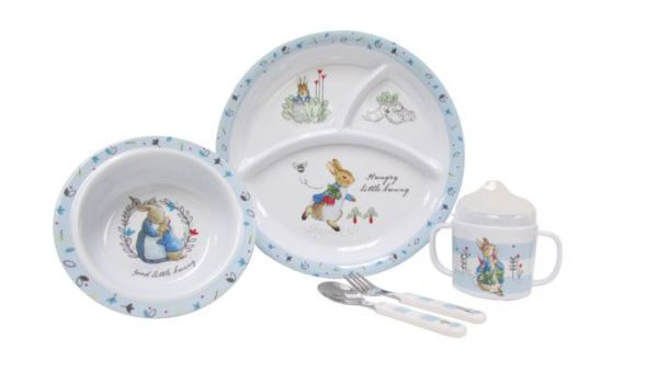 Peter Rabbit 5 Piece Feeding Set