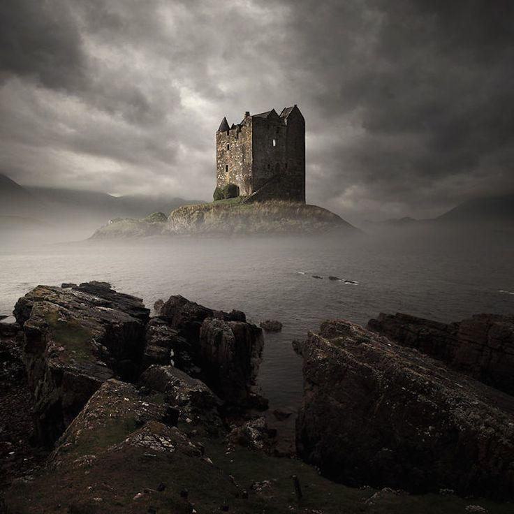 "nordicsublime: ""Stalker Castle, Scotland . earthporn.com """