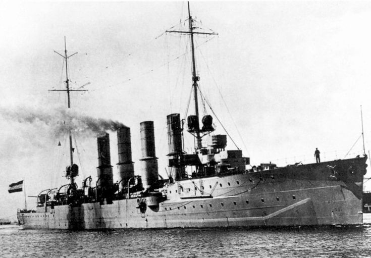 SMS Breslau which became the Ottoman Midilli